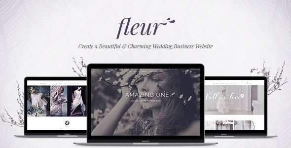 Fleur 2.0 – Wedding Theme