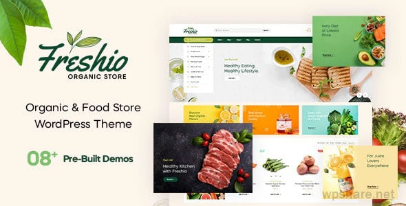 Freshio 1.7.0 – Organic & Food Store WordPress Theme