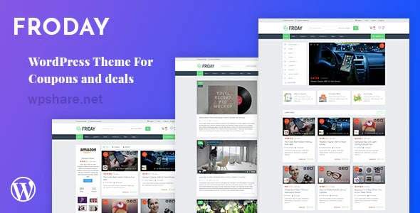 Froday 2.6.0 – Coupons and Deals WordPress Theme