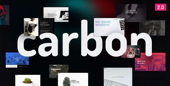 Carbon 2.7.5 – Clean Minimal Multipurpose WordPress Theme