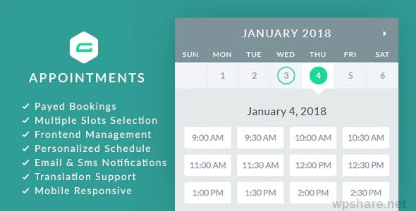 gAppointments 1.9.5.2 – Appointment booking addon for Gravity Forms