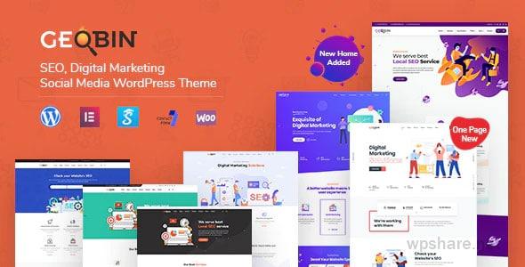 GeoBin 2.7 – Digital Marketing Agency, SEO WordPress Theme