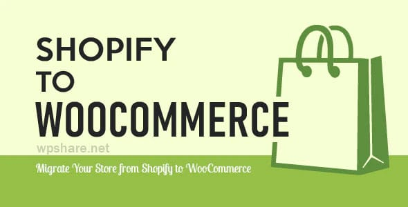 Import Shopify to WooCommerce v1.1.0
