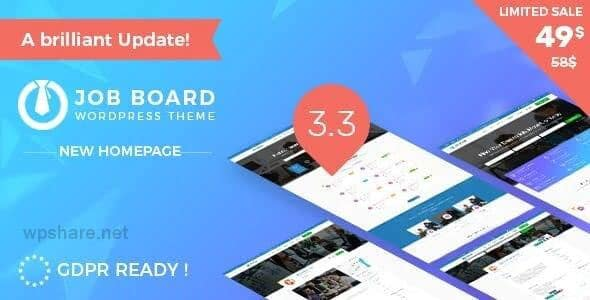 InJob 3.4.7 – Multi features for recruitment WordPress Theme