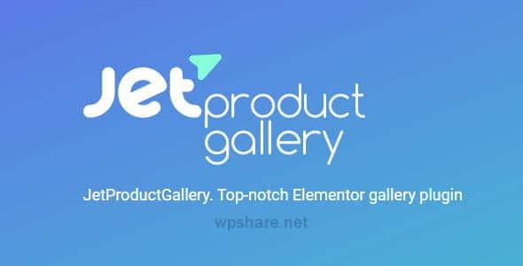 JetProductGallery 2.0.4 – Plugin for Elementor