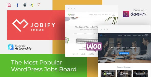 Jobify 3.18.0 – Job Board WordPress Theme