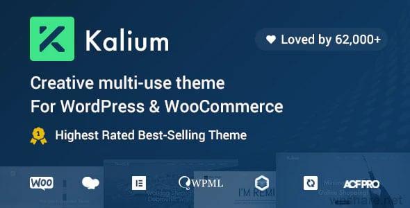 Kalium 3.3.1 – Creative Theme for Professionals
