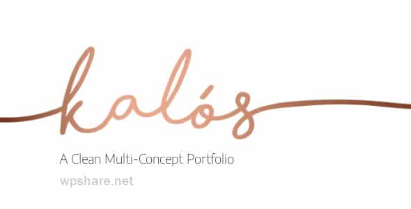 Kalόs 1.4 – Portfolio WordPress Theme