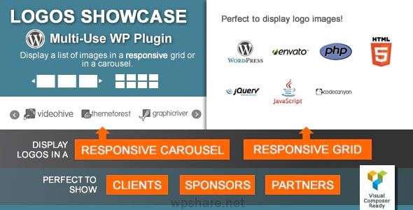 Logos Showcase 2.1 – Multi-Use Responsive WP Plugin
