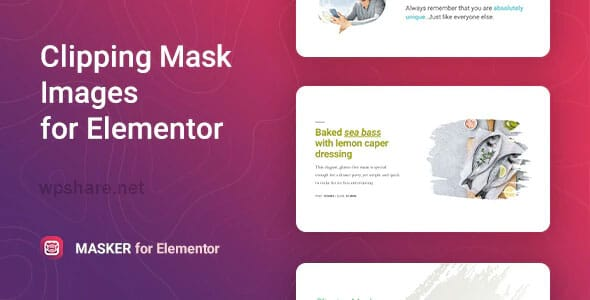 Masker 1.1.1 – Clipping Mask for Elementor