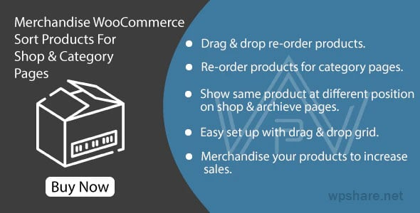 Merchandise WooCommerce 1.0 – Sort Products For Shop & Category Pages