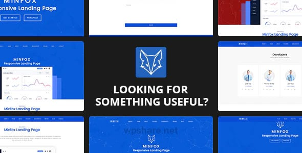 Minfox 1.4.8 – Software Landing Page