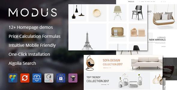 Modus 1.6.3 – Modern Furniture WooCommerce Theme