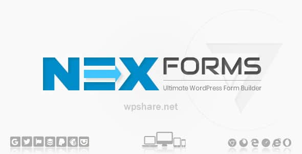 NEX-Forms 7.8.8 – The Ultimate WordPress Form Builder+ Addons