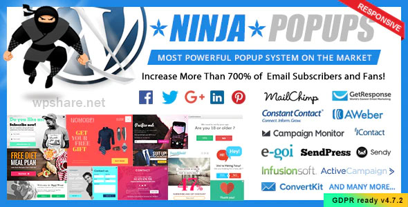 Ninja Popups 4.7.4 – Popup Plugin for WordPress