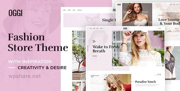 OGGI 1.0.0 – Fashion Store WooCommerce Theme