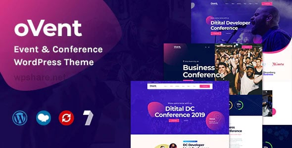 Ovent 1.0.4 – Event Conference WordPress