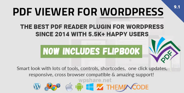 PDF viewer for WordPress v9.1.1