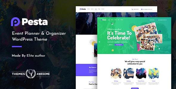 Pesta 1.3 – Event Planner & Organizer WordPress Theme