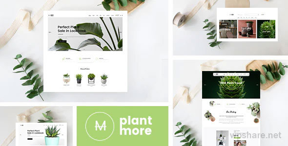 Plantmore 1.1.7 – Responsive Theme for WooCommerce