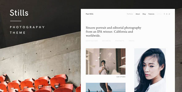Stills 1.4.3 – A Focused WordPress Photography Theme