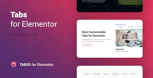 Taber 1.0.0 – Tabs for Elementor