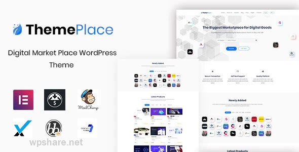 ThemePlace 1.1.4 – Marketplace WordPress Theme