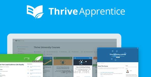 Thrive Apprentice 2.4.0.1 – Education WordPress Plugin