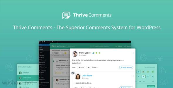 Thrive Comments 1.4.16.1 – WordPress Plugin