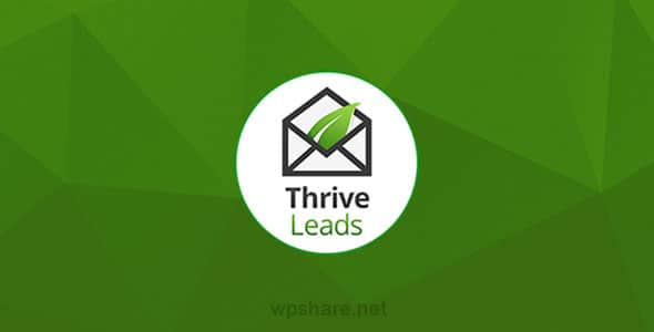 Thrive Leads 2.4.0.1 – Builds Your Mailing List Faster