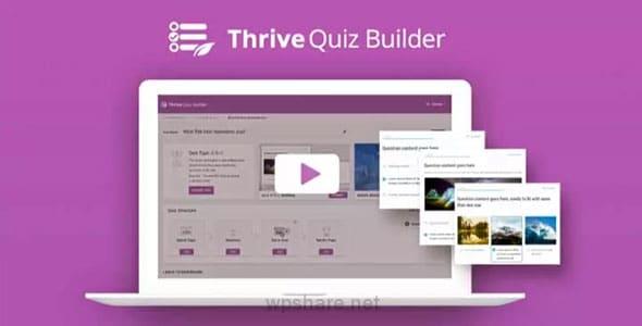Thrive Quiz Builder 2.4.0.1 – WordPress Plugin