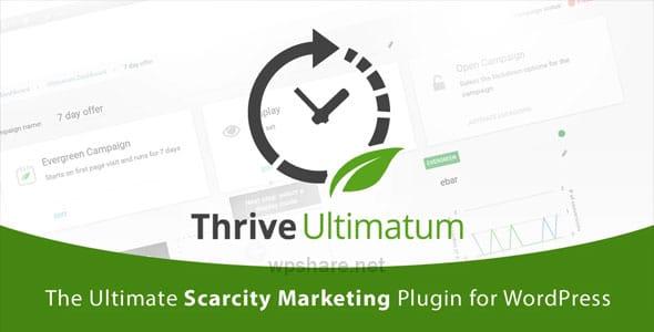 Thrive Ultimatum 2.4.0.1- Countdown WordPress Plugin