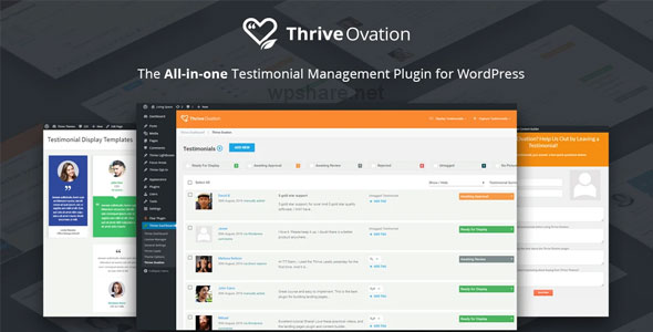 Thrive Ovation 2.4.5.1 – WordPress Plugin
