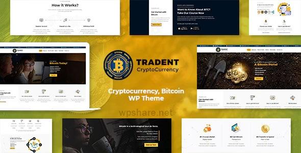 Tradent 2.2 – Cryptocurrency, Bitcoin WordPress Theme