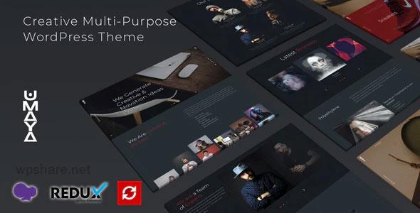 Umaya 1.0 – Creative Portfolio Agency WordPress Theme