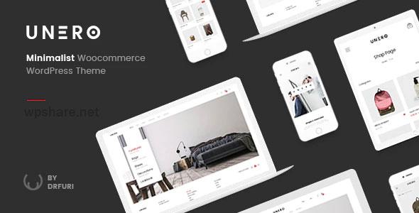 Unero 1.9.2 – Minimalist AJAX WooCommerce WordPress Theme