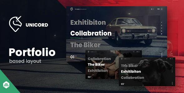 Unicord 1.1.1 – Creative Portfolio for Freelancers & Agencies Theme