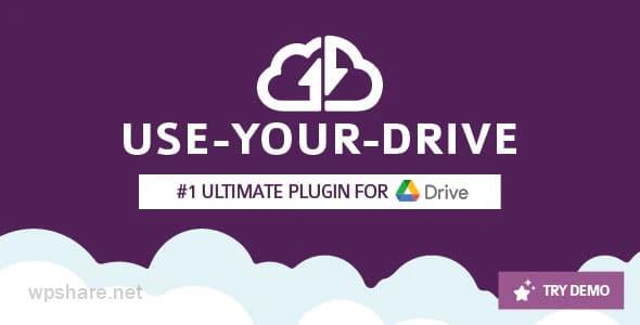Use-your-Drive 1.16.2 – Google Drive plugin for WordPress