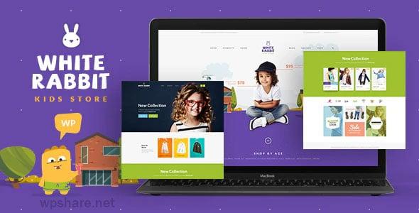 White Rabbit 1.3.6 – Kids Toys & Children Clothing Store