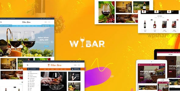 Wibar 2.0 – Wine and Vineyard WooCommerce WordPress Theme
