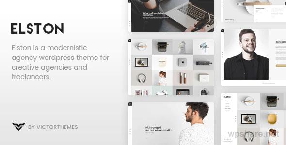 Elston 1.8.1 – Portfolio for Freelancers & Agencies