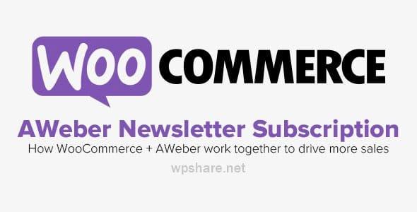 WooCommerce – Aweber Newsletter Subscription v3.4.3