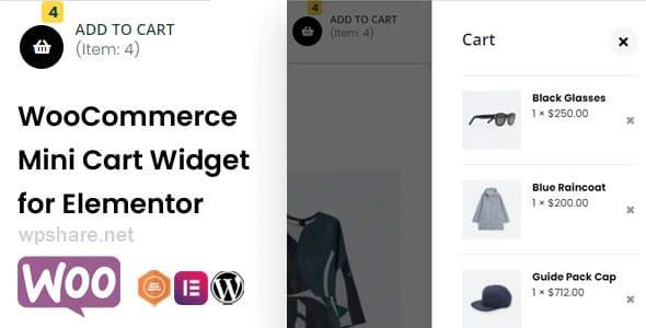 WooCommerce Mini Cart Widget for Elementor v1.0.4