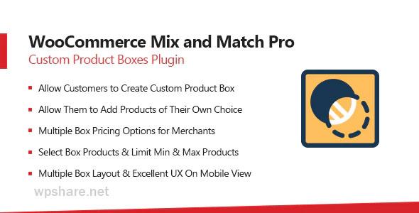 WooCommerce Mix & Match 1.4.0 – Custom Product Boxes Bundles