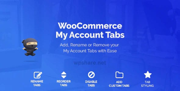 WooCommerce Custom My Account Pages 1.0.12