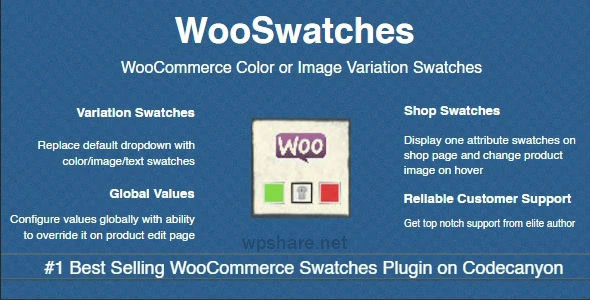 WooSwatches 3.1.4 – WooCommerce Color or Image Variation Swatches