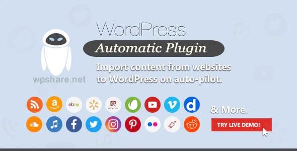 WordPress Automatic Plugin v3.53.6
