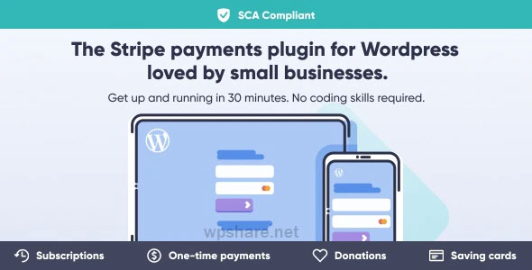WP Full Stripe 5.4.0 – Subscription and payment plugin for WordPress