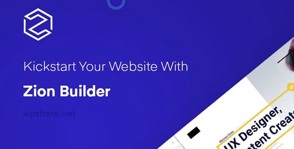 Zion Builder Pro 2.0.0 – The Fastest WordPress Page Builder