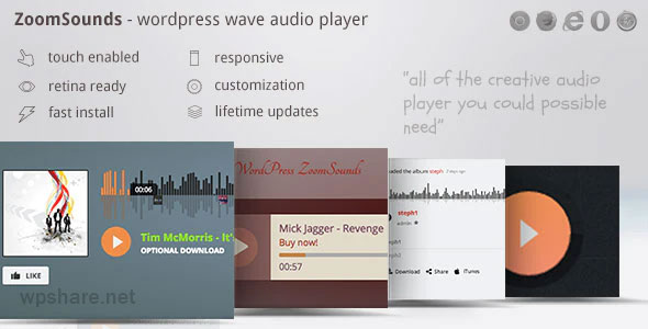 ZoomSounds 6.18 – WordPress Audio Player Plugin